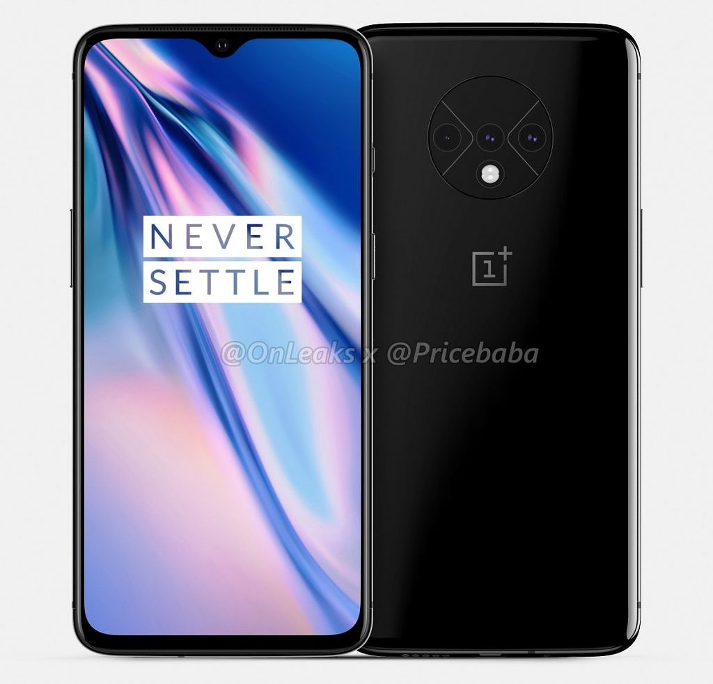 Could this be the new design for the OnePlus 7T?
