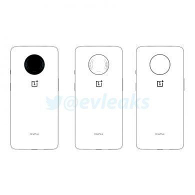 """This could be the OnePlus 7 """"T"""" with a circular camera bump"""