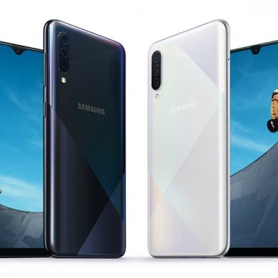 Samsung Galaxy A50s and Galaxy A30s announced with upgraded cameras and new design
