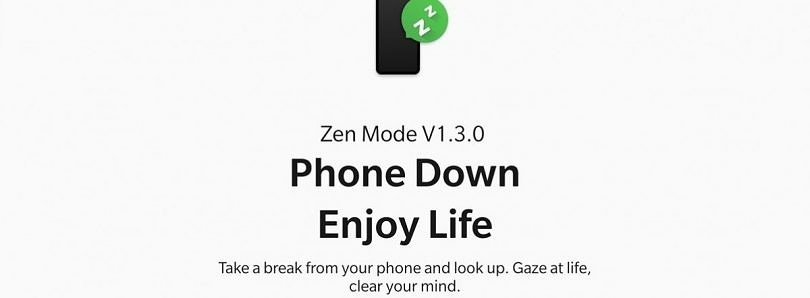 Download: Zen Mode 1.3 adds a launcher shortcut and duration options for OnePlus phones