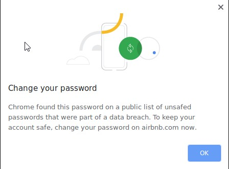 Chrome Password Leak Detection helps when your password is