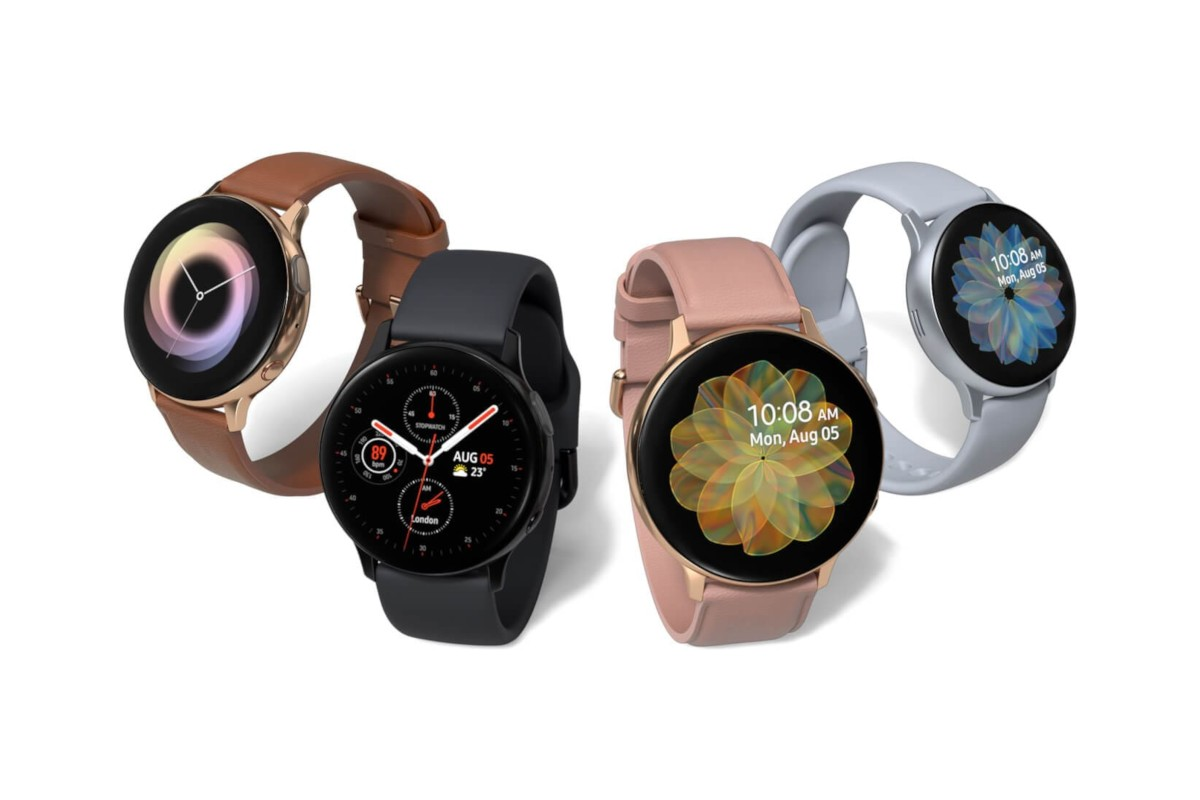 Here is your first look at the Samsung Galaxy Watch 3 in the flesh