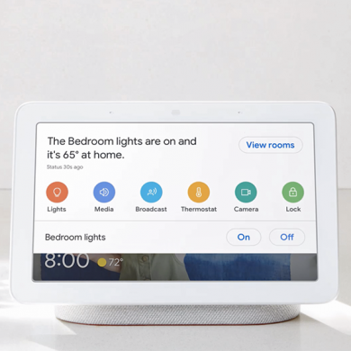 Google Nest Hub, Google's smart speaker with a 7″ display, launches in India for ₹9,999 (~$140)