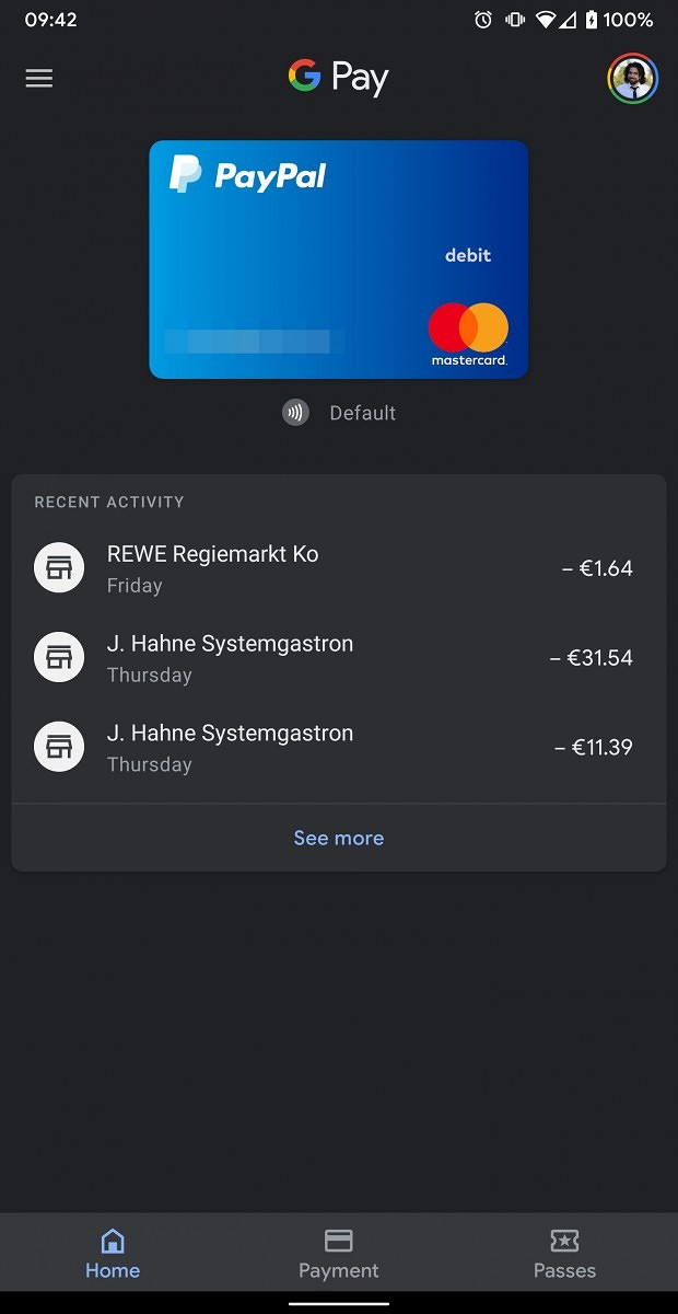 Google Pay is getting a dark mode