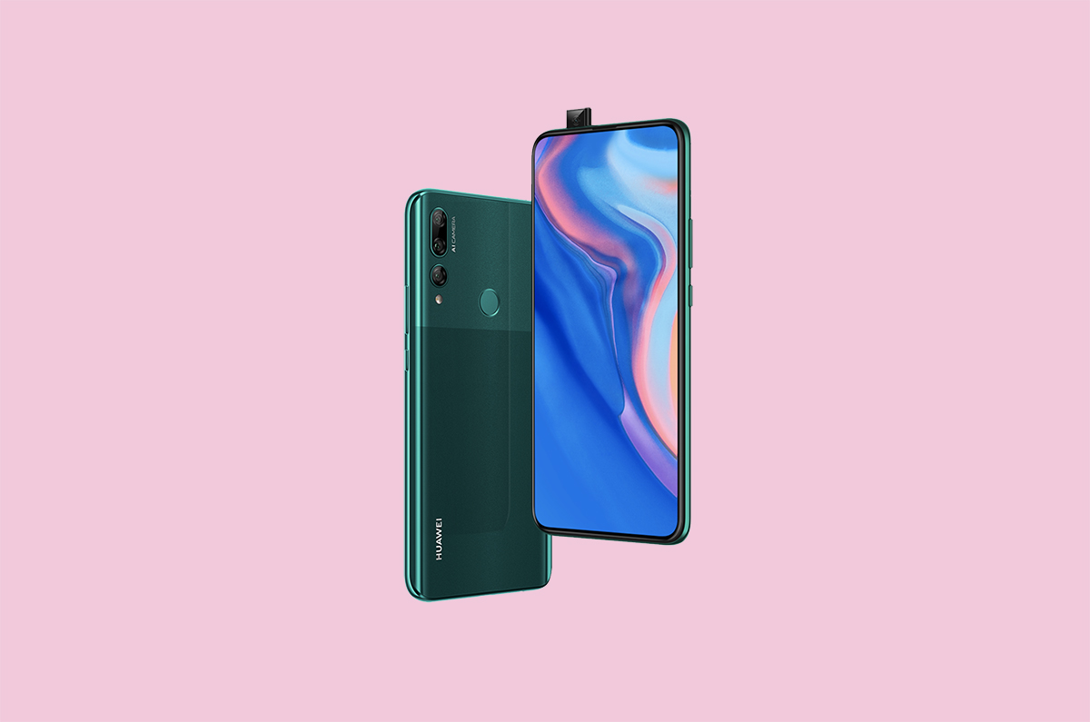 Huawei Y9 Prime with pop-up camera, notcless display