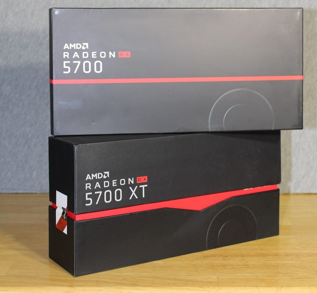 AMD Radeon RX 5700 box