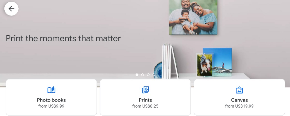google photos tests walmart  cvs photo prints and large canvas prints