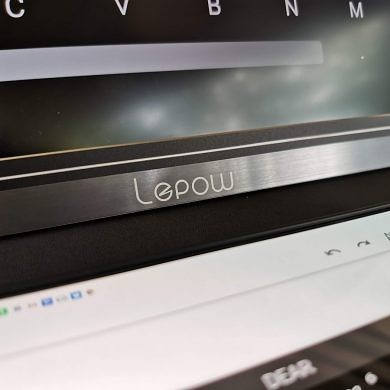 The Lepow 15.6-inch portable monitor works perfectly with your smartphone