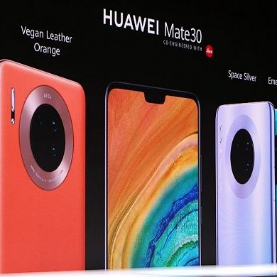 Huawei unveils the Mate 30 series with the Kirin 990 and Android 10