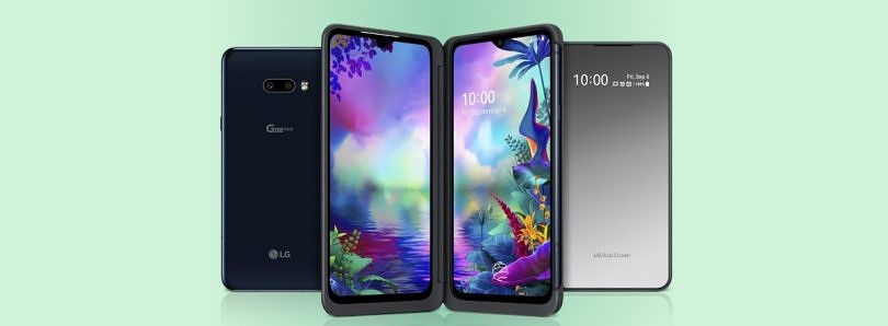 [Update: Launched in India] LG's take on foldables is the G8X with its dual screen attachment