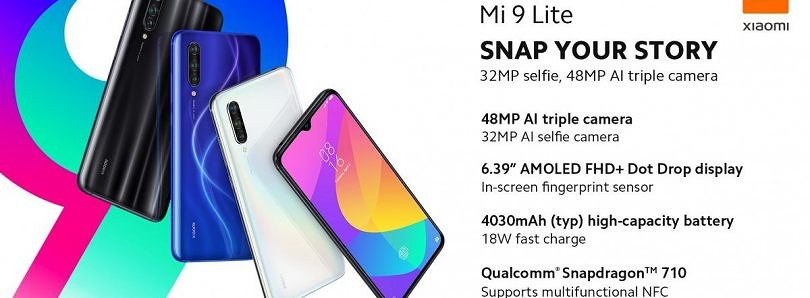 Xiaomi launches the Mi CC9 in Europe as the Mi 9 Lite, not the Mi A3 Pro as some had hoped