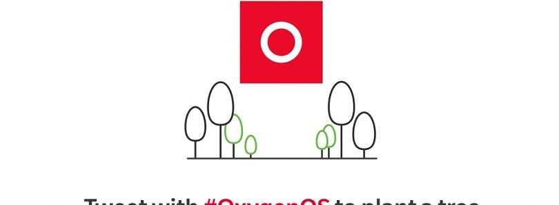 OnePlus is celebrating 1500 days of OxygenOS by planting a tree for every #OxygenOS tweet