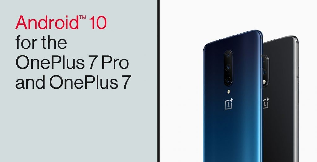 OxygenOS 10 based on Android 10 released for the OnePlus 7 and OnePlus 7 Pro