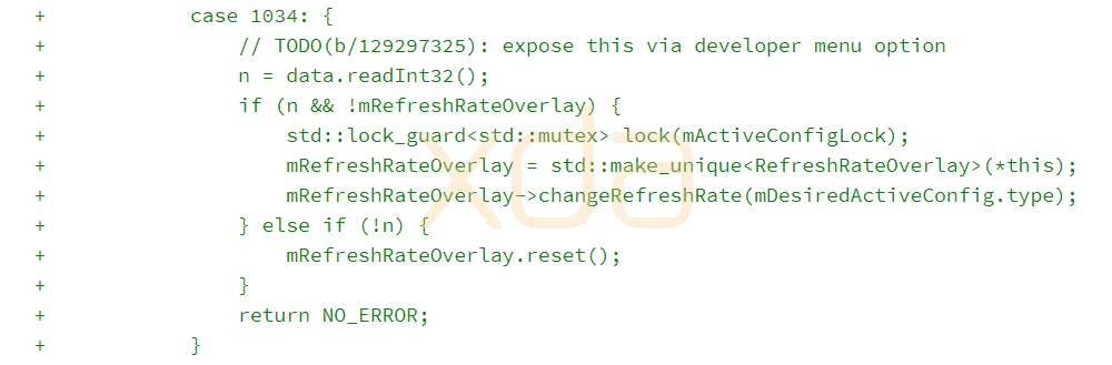 Android 10 SurfaceFlinger source code