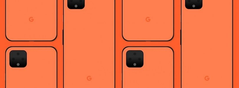 "[Update 3: ""Oh So Orange""] Google Pixel 4 XL leaks yet again, this time in a new orange ""Coral"" color"