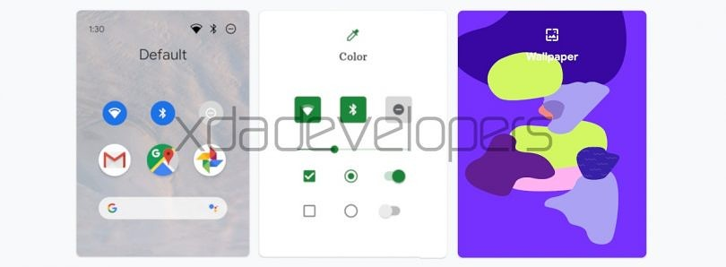 This is likely the Google Pixel Themes app for customizing Android 10