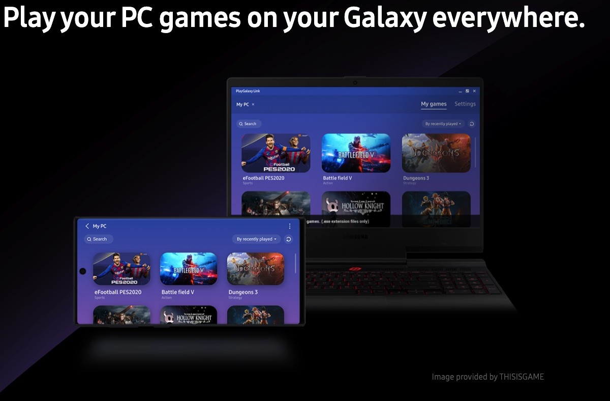 PlayGalaxy Link is now available on the Samsung Galaxy Note 10