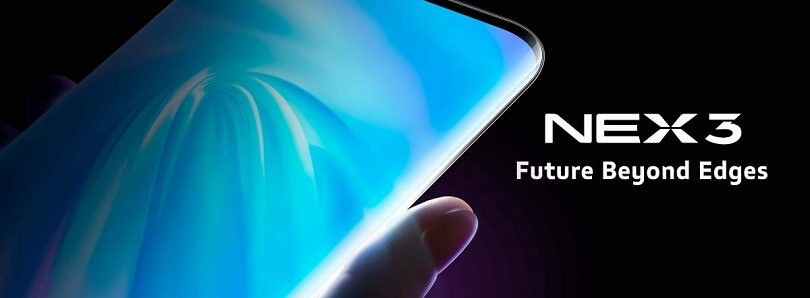 Vivo NEX 3 5G announced with extreme curved display and 64MP camera