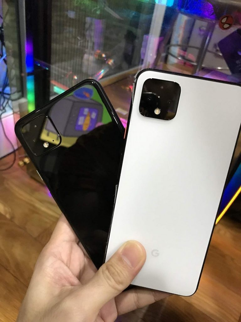 Google Pixel 4 White and Black