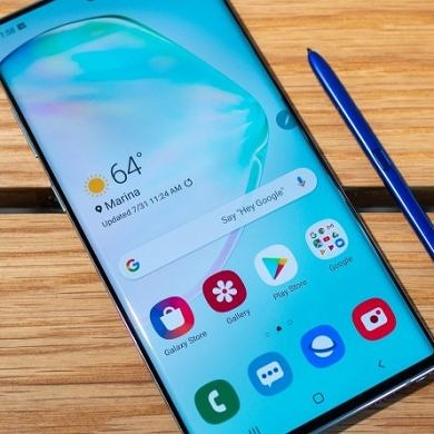Remap the S Pen button on the Samsung Galaxy Note 10 with sideActions
