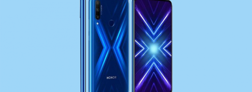 [Update: October 17 Launch] Honor 9X Pro to launch in Europe with a different fingerprint placement