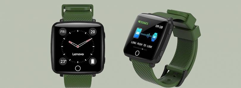 Lenovo Carme fitness tracker with a 1.3″ colored display, IP68 rating, heart rate monitoring launches in India