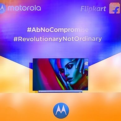 Made by Flipkart, Motorola's new range of Android TVs starts at ₹13,999 (~$200) in India
