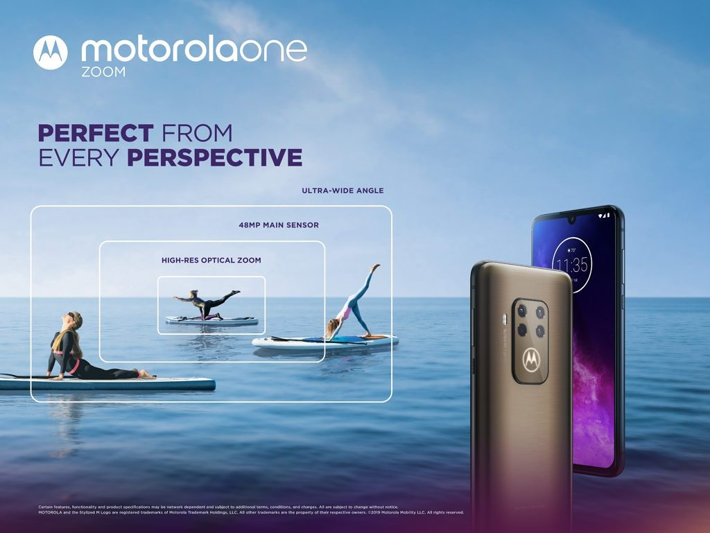 Motorola One Zoom announced with quad cameras and Snapdragon 675