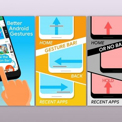Navigation Gestures 1.18.4 released to stable with new features and bug fixes
