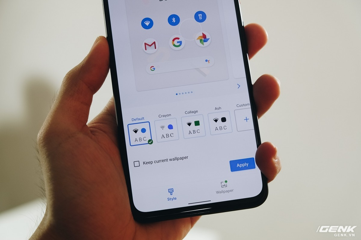 Pixel 4 hands-on video shows off Pixel Themes and new Assistant UI?