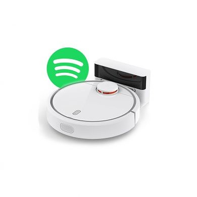 This guy installed Spotify on his Xiaomi Vacuum Cleaner
