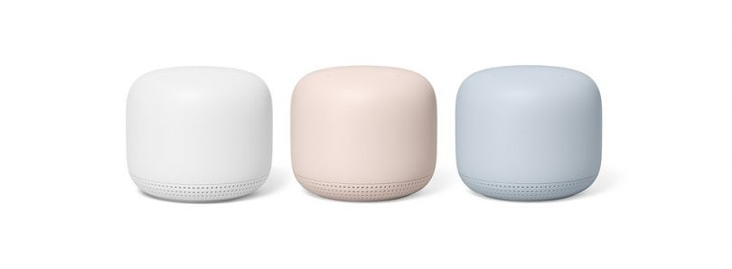 Google Nest WiFi has a completely new design and doubles as a smart speaker