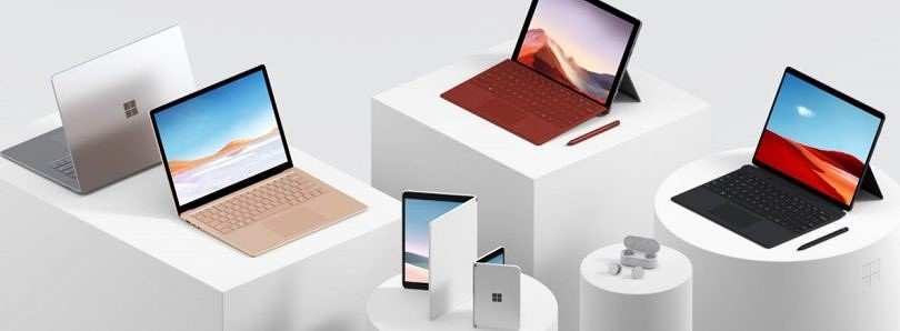 Microsoft announces a dual-screen Android phone, Surface Pro 7, Surface Laptop 3, and more