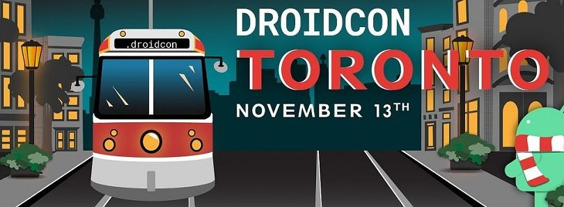 droidcon Toronto starts Nov. 13, and we have a 30% discount code for XDA readers