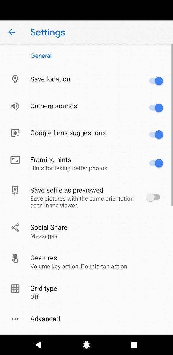 Google Camera 7 1 rolling out with new UI and Social Share