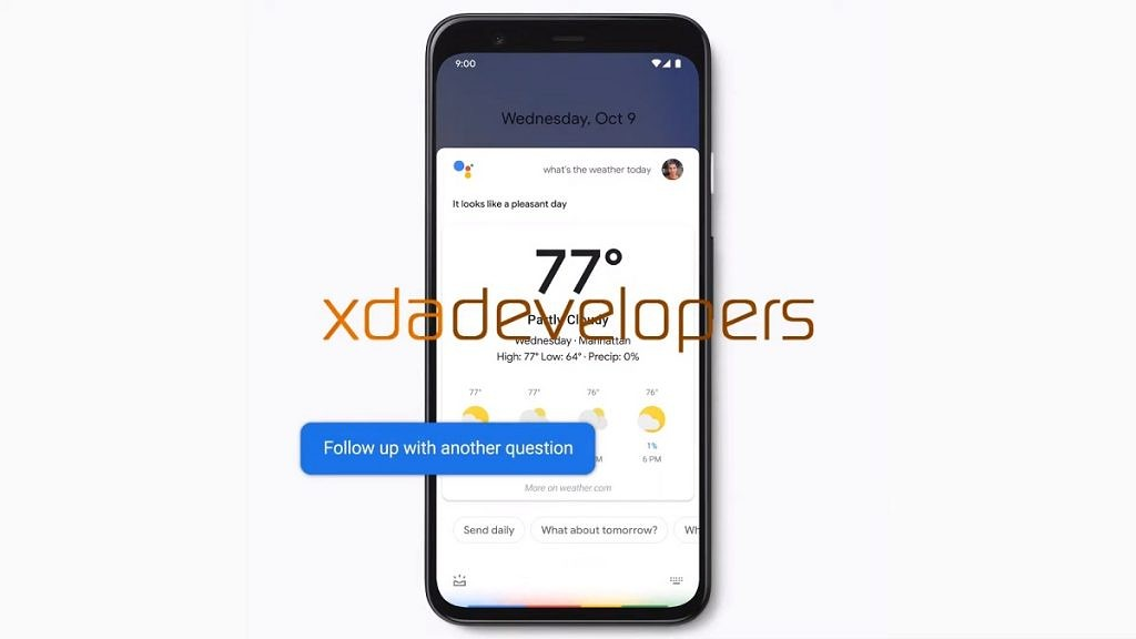 """Google App confirms work on """"Raise to Talk"""" for Assistant's Continued Conversation on the Pixel 4"""