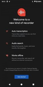 Google Recorder app for the Pixel 4