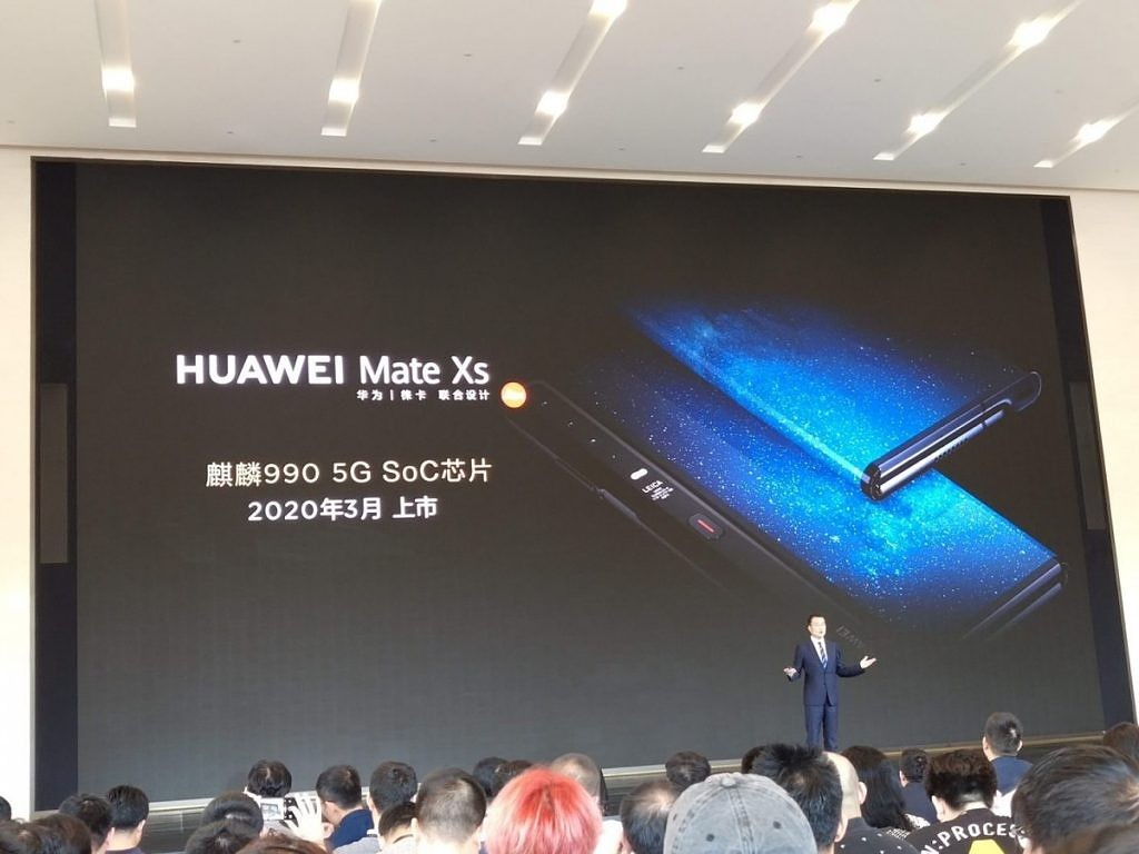 Huawei Mate Xs announcement
