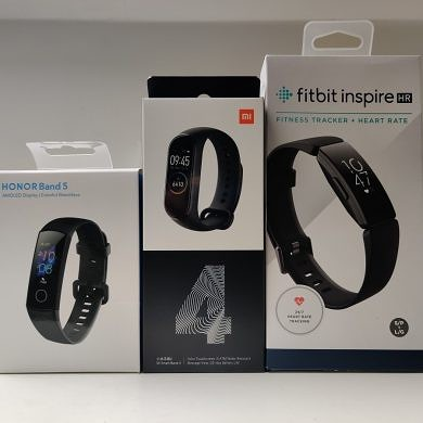 Honor Band 5 vs Mi Band 4 vs Fitbit Inspire HR