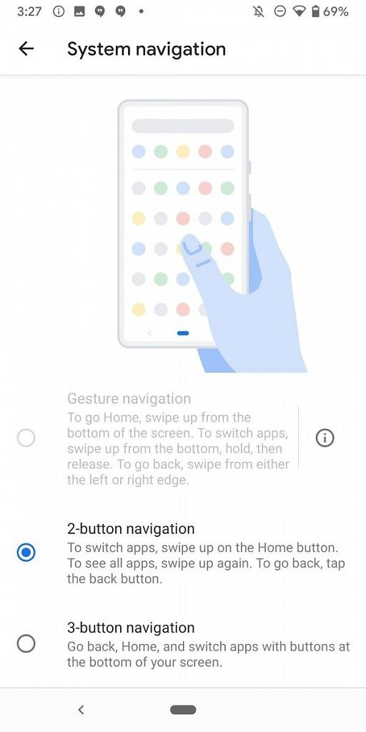 Navigation Gestures Third Party Launcher Support