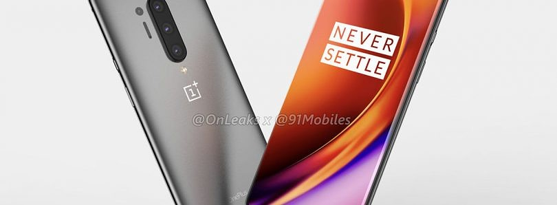 OnePlus 8 Pro leaked renders show off quad-camera setup and punch-hole display