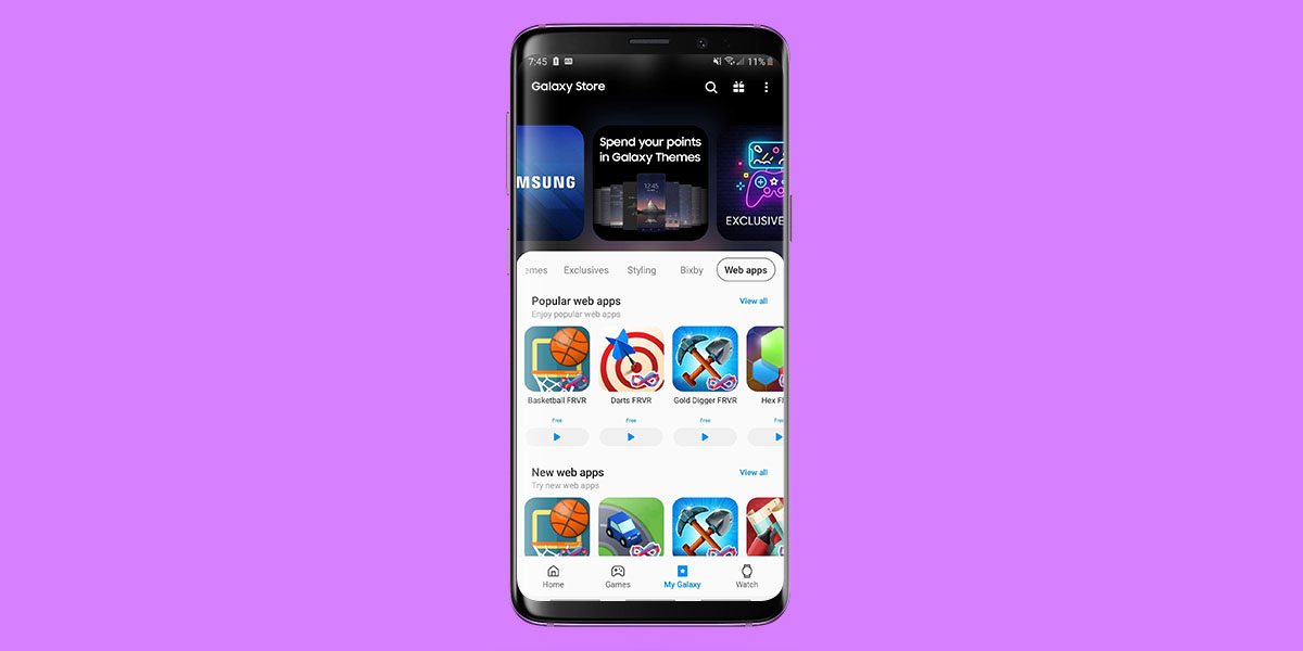 Developers Can Now Upload Progressive Web Apps To The Samsung Galaxy Store