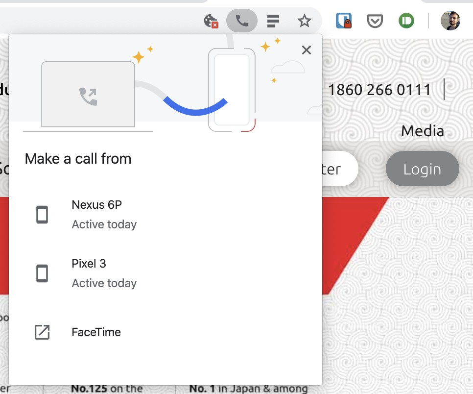 chrome phone numbers