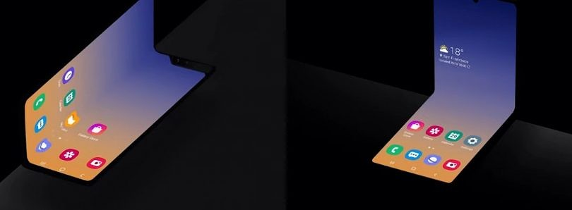 Breaking: Samsung teases a new vertically folding Galaxy Fold