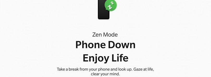 The new Zen Mode from OxygenOS 11 is now available for OnePlus phones on Android 10+