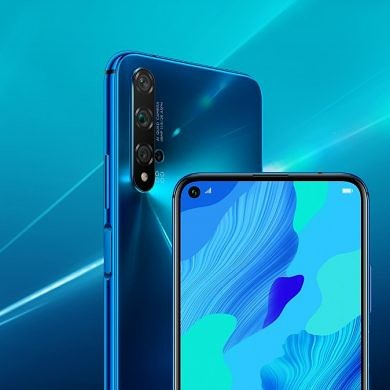 Huawei Nova 5T is a rebranded Honor 20 that's coming to Europe with Google apps