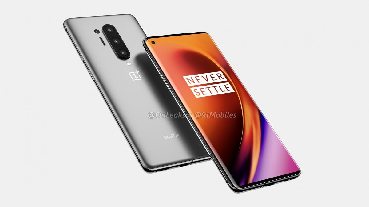 OnePlus 8 Pro renders show punch-hole display and quad-cams