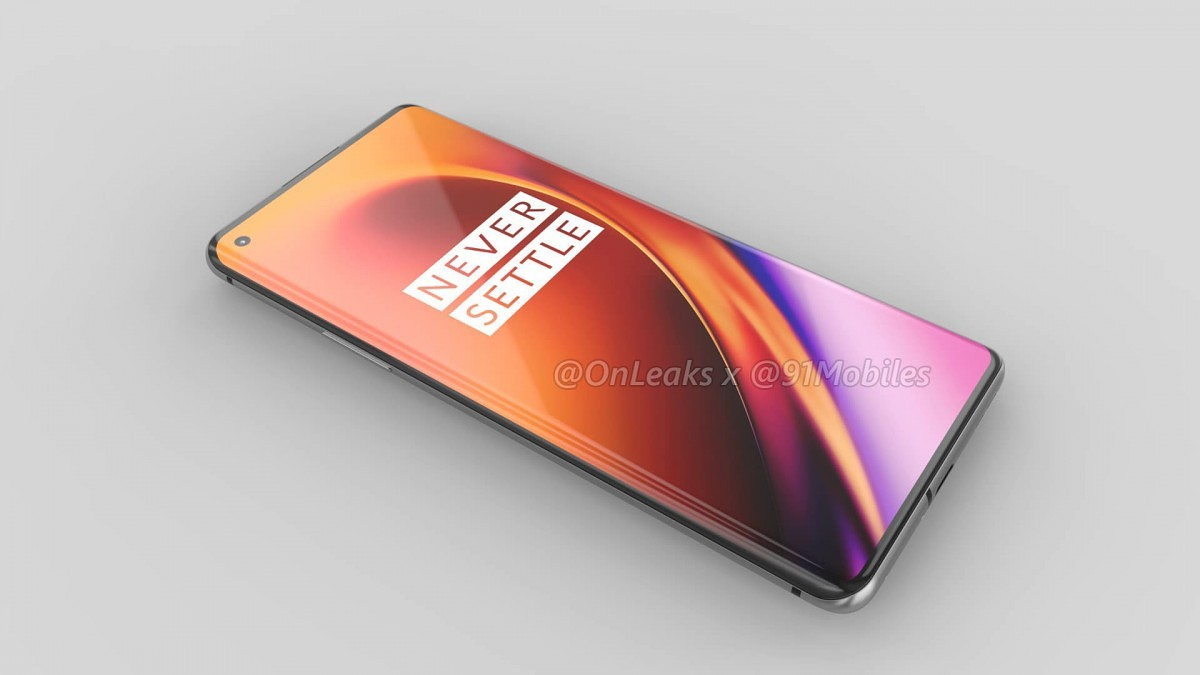 OnePlus 8 Pro renders leak showing punch hole display, 3D ToF camera