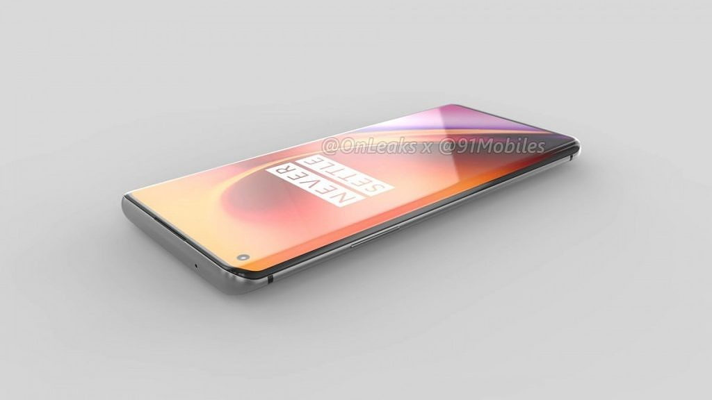 OnePlus 8 Pro leaked render