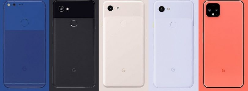 The evolution of the Google Pixel series: from OG to Pixel 4